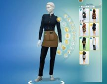 Sims 4 Restaurant Uniform (6)